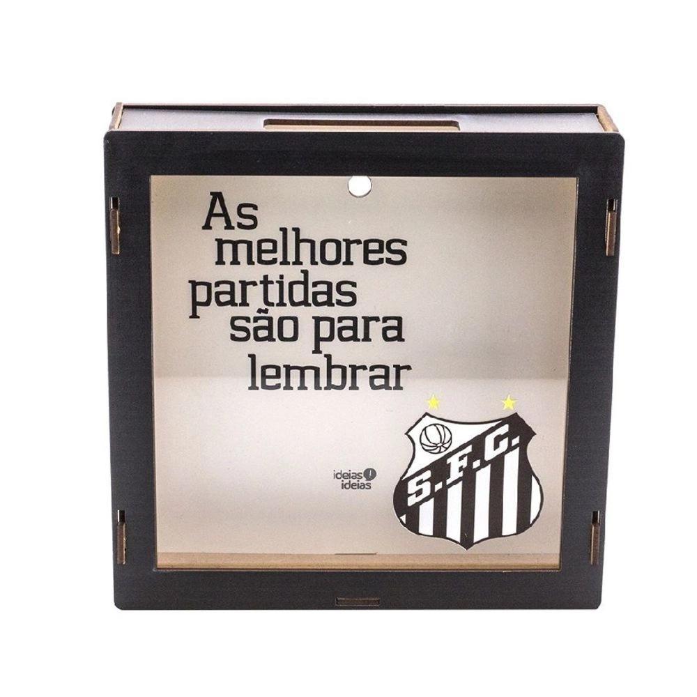 Quadro de Lembranças Santos FC - Oficial