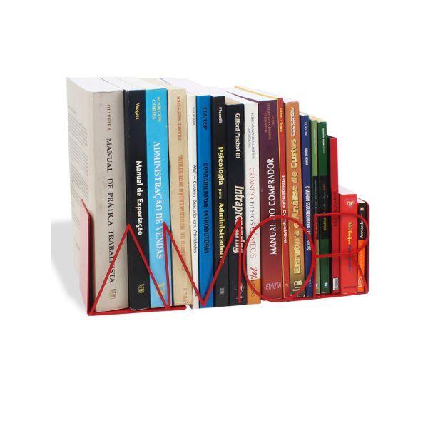 Suporte Aparador de Livros, DVD, Cd, Amor Geguton
