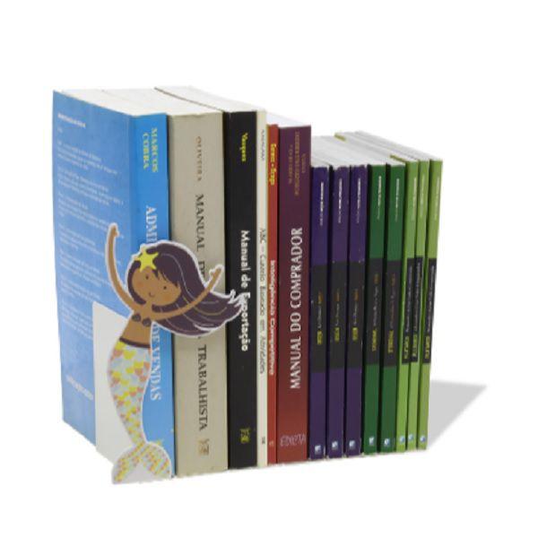 Suporte Aparador de Livros, DVD, Cd, Sereia