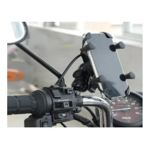 Suporte De Celular Para Moto Ou Bicicleta Com Usb