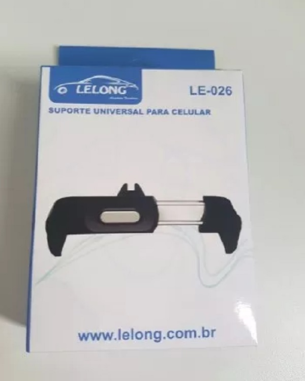 Suporte Veicular Universal P/ Celulares Lelong 026