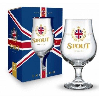 Taça Dublin Inglaterra 400 ml Vidro Stout England