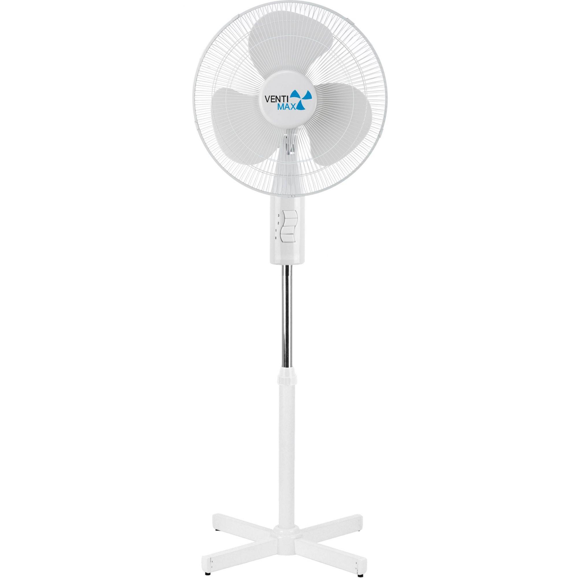 Ventilador Ventimax com Pedestal Branco