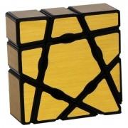3x3x1 Ghost Cube Dourado