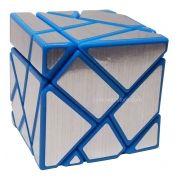 3x3x3 Ghost Cube Azul Prata