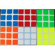 Adesivo 3x3x3 Fluorescente