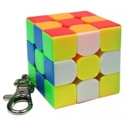 Chaveiro Cubo Mágico 3x3x3 Moyu 4cm