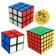 Kit Cubo Mágico 2x2 3x3 5x5