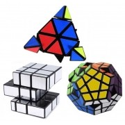 Kit Pyraminx + Megaminx + Mirror Blocks
