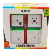 Kit Cubo Moyu 2x2 3x3 4x4 5x5