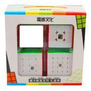 Kit Cubo Moyu 3x3 4x4 5x5