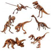 Quebra Cabeça 3d Madeira Mdf Dinossauro
