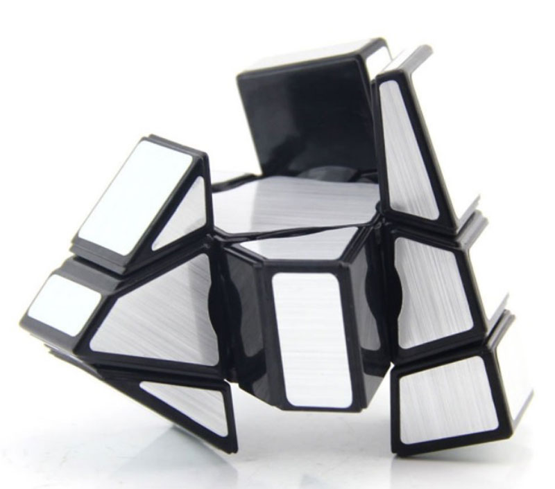 3x3x1 Ghost Cube Prata
