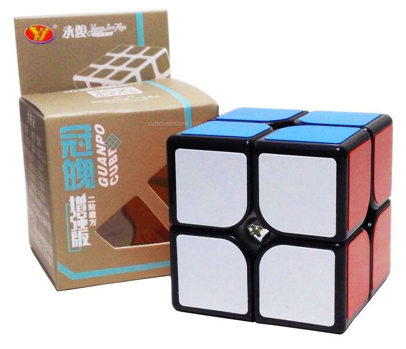 2x2x2 Guanpo Plus Preto