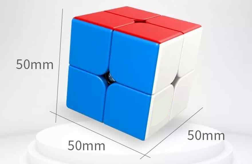 2x2x2 Moyu Meilong Stickerless