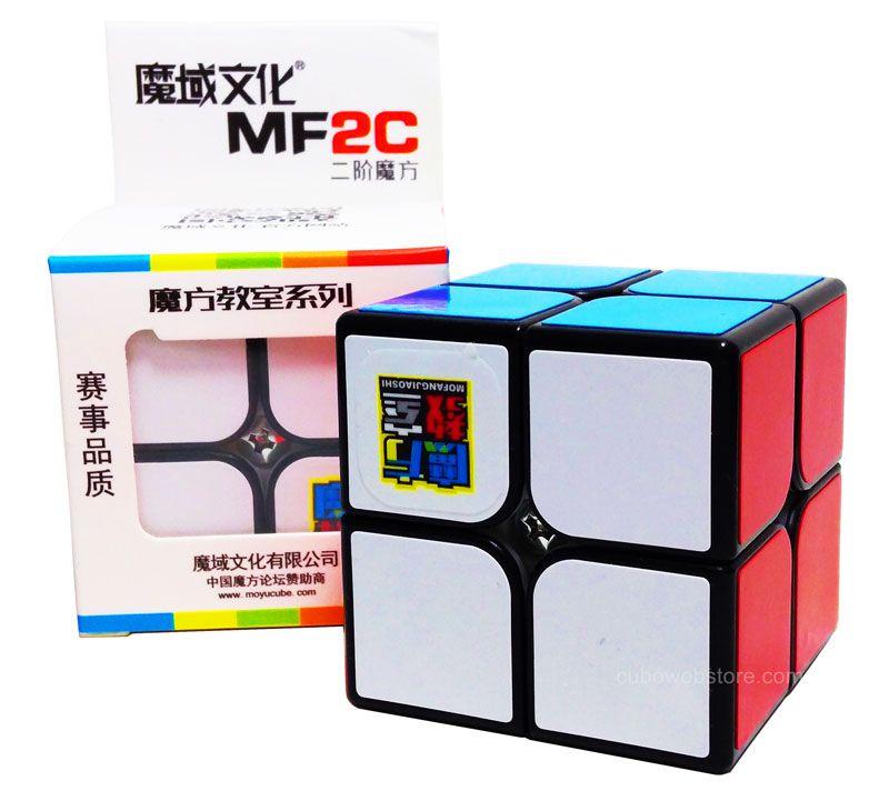 2x2x2 Moyu MF2C Preto