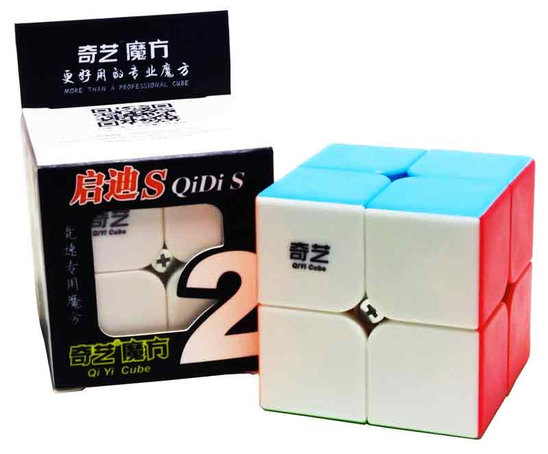2x2x2 Qiyi QiDi S Stickerless
