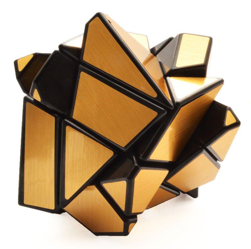 3x3x3 Ghost Cube Dourado