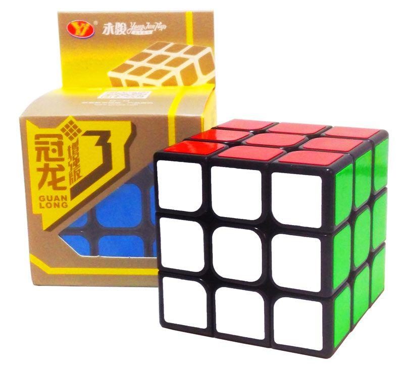3x3x3 Guanlong Plus V3 Preto