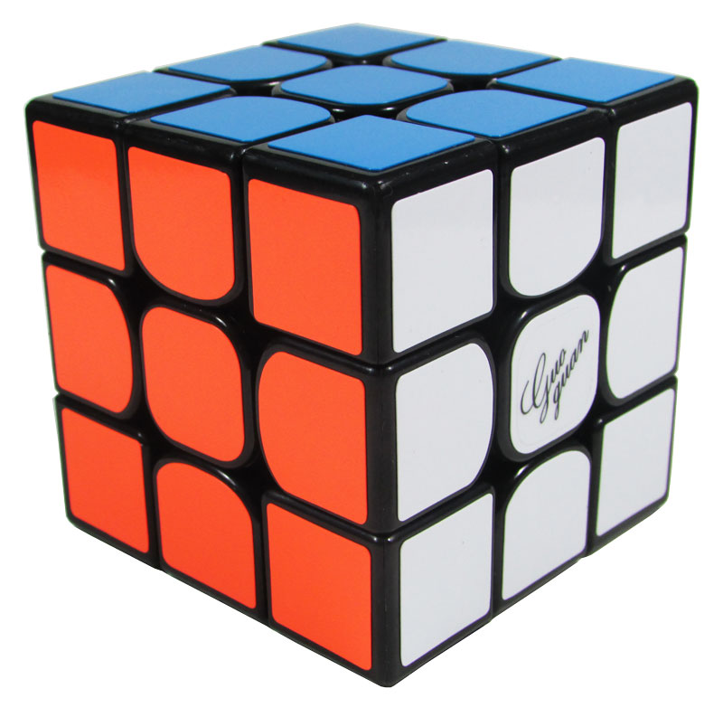 3x3x3 GuoGuan Preto