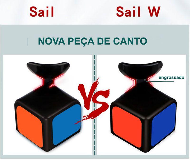 3x3x3 QiYi Sail W Branco