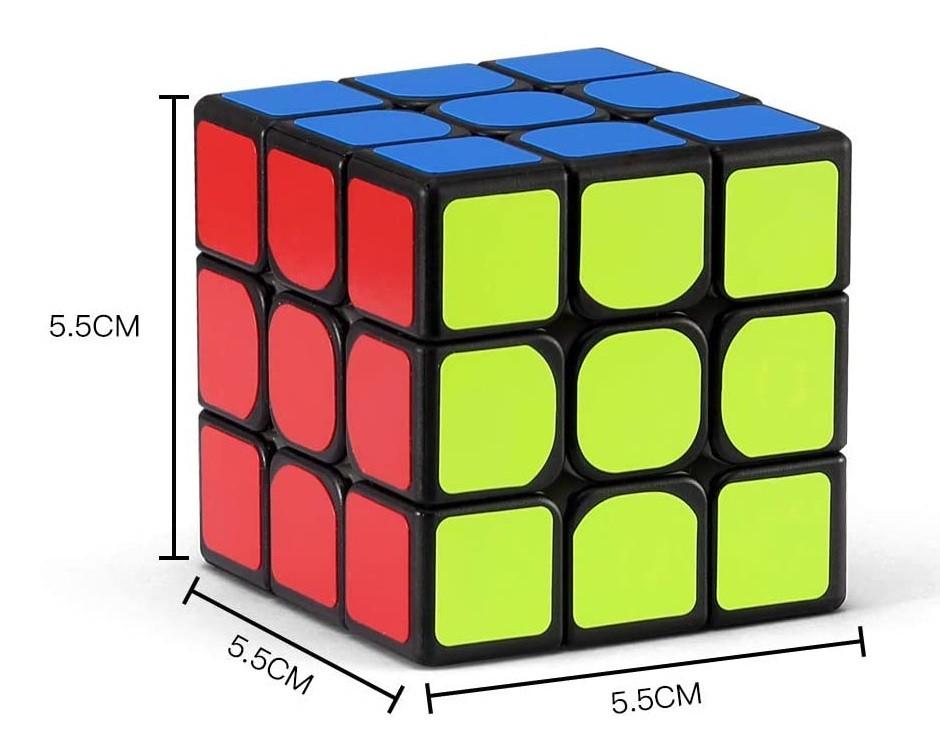 3x3x3 Shengshou Magnético - Mr. M Preto