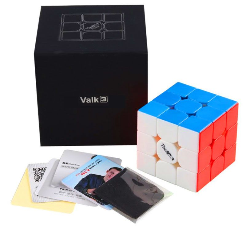3x3x3 Valk 3 Stickerless