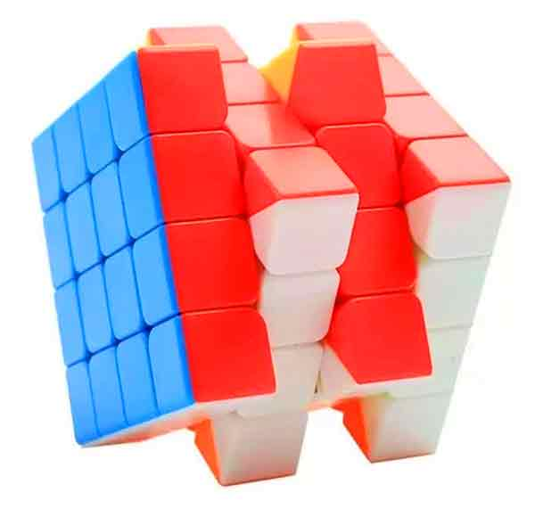 4x4x4 Moyu Meilong Stickerless