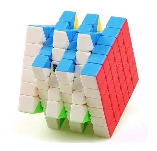 6x6x6 Moyu Meilong Stickerless