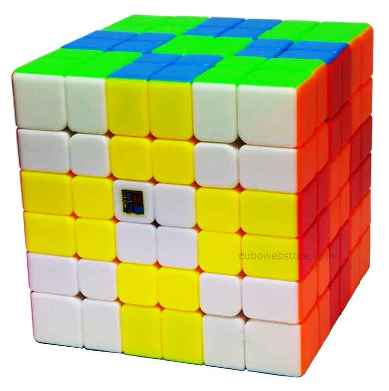 6x6x6 Moyu MF6 Stickerless