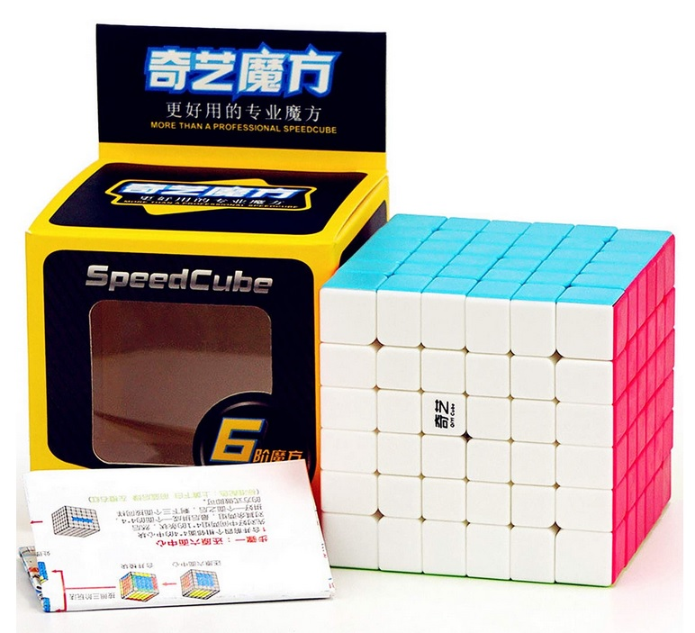 6x6x6 Qiyi Qifan S Stickerless