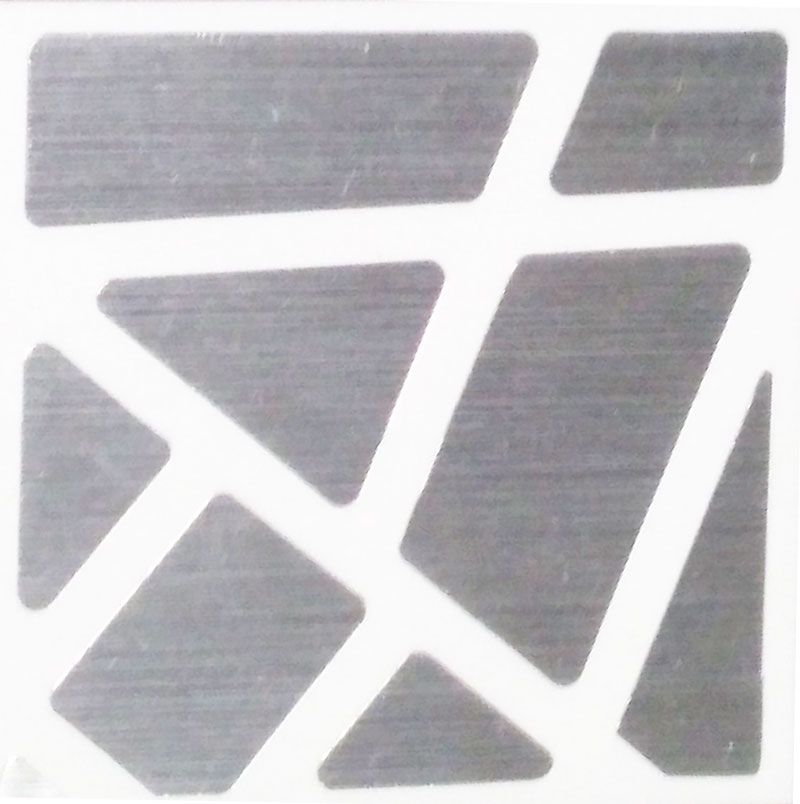 Adesivo 3x3x3 Ghost Cube Prata