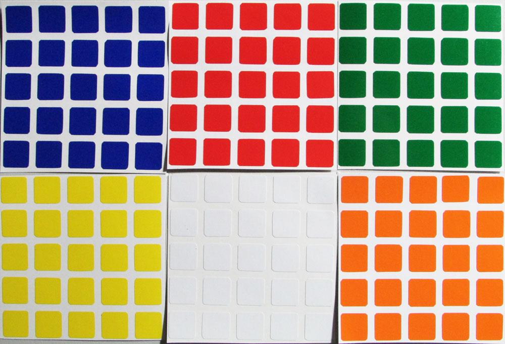 Adesivo 5x5x5 Shengshou
