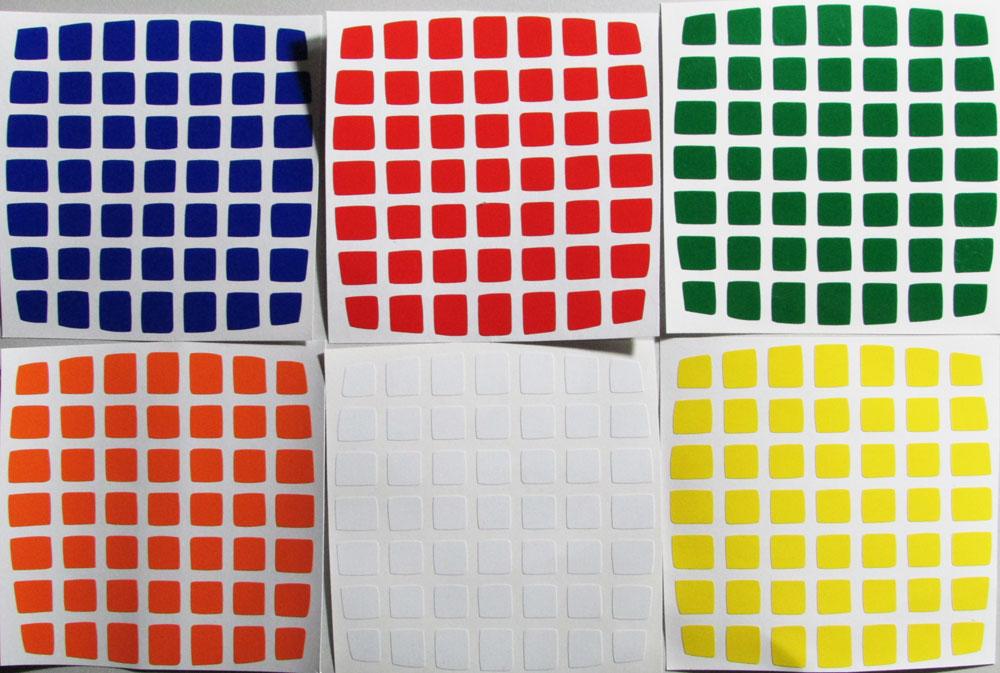 Adesivo 7x7x7 Pillow