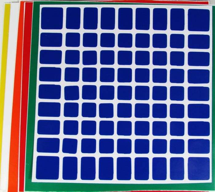 Adesivo 9x9x9 Shengshou