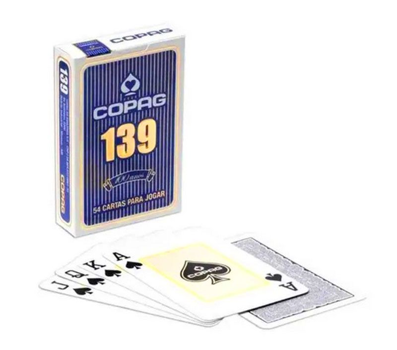 Jogo de Cartas Baralho Copag 139