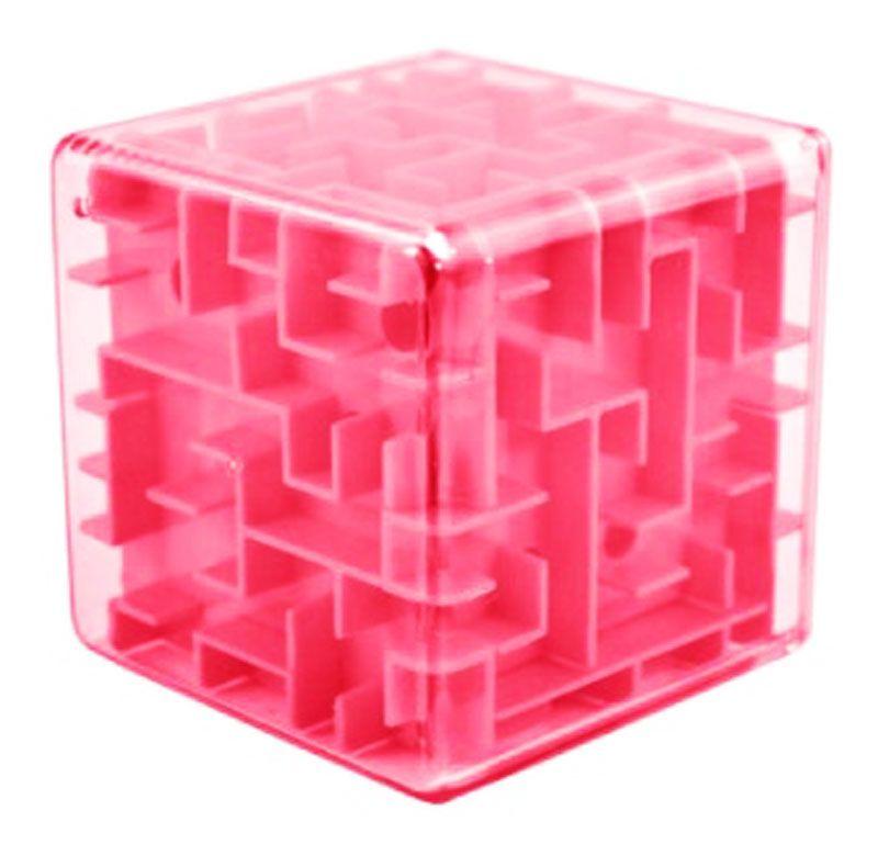 Jogo Labirinto Cubo Rosa