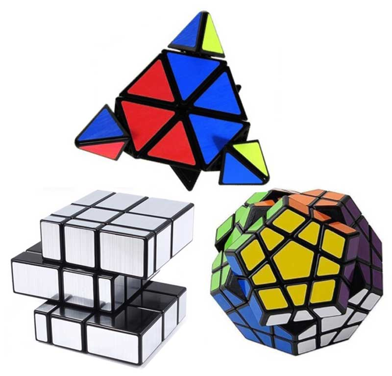 Kit Shengshou Pyraminx Megaminx Mirror Blocks