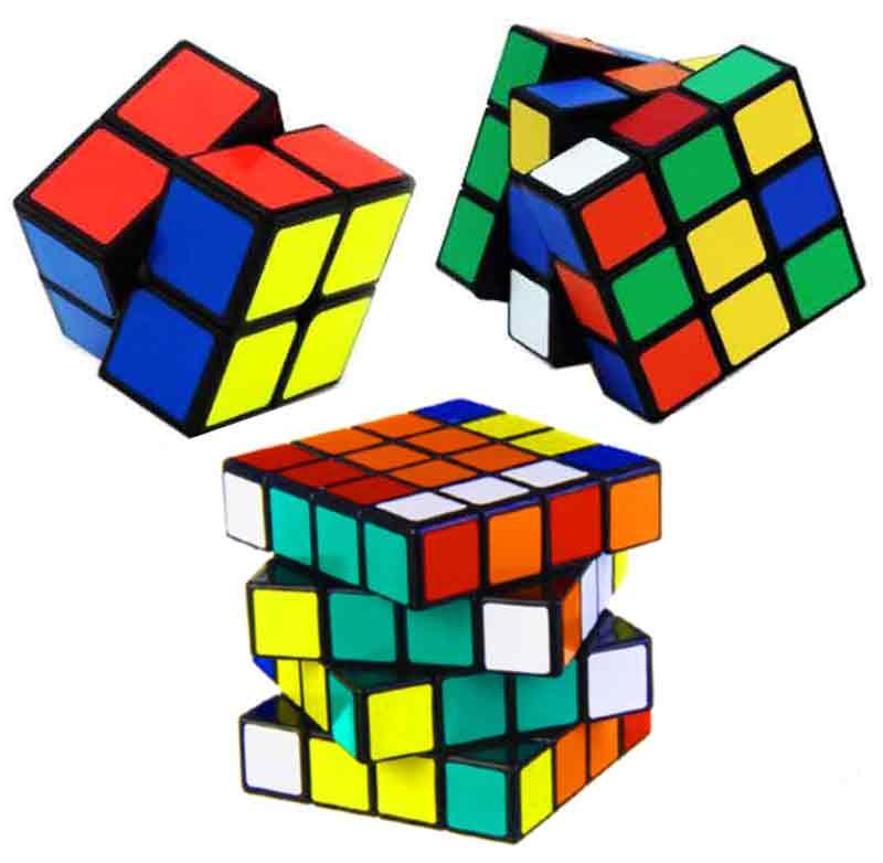 Kit Cubo Mágico Mix Com 8