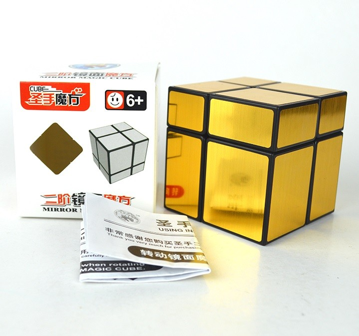Mirror Blocks 2x2x2 Shengshou Dourado