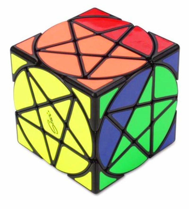 Pentacle Stars Cube Preto