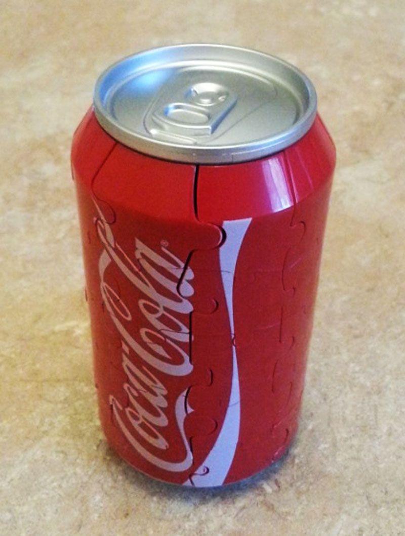 Puzzle Coca-Cola 3d