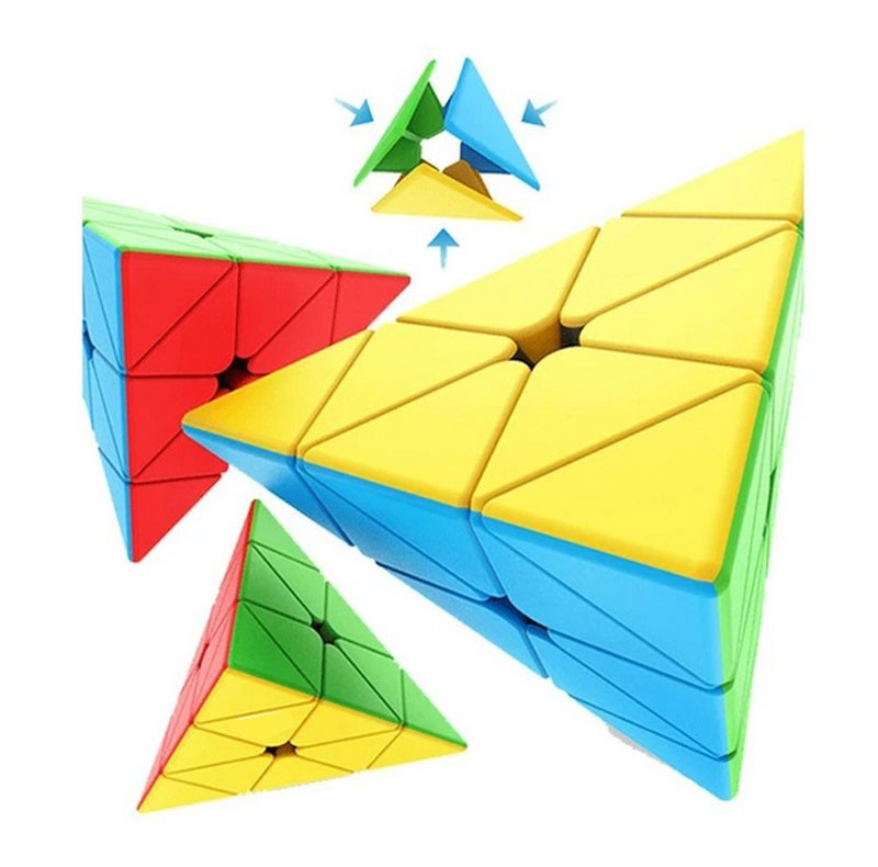 Pyraminx Meilong Stickerless
