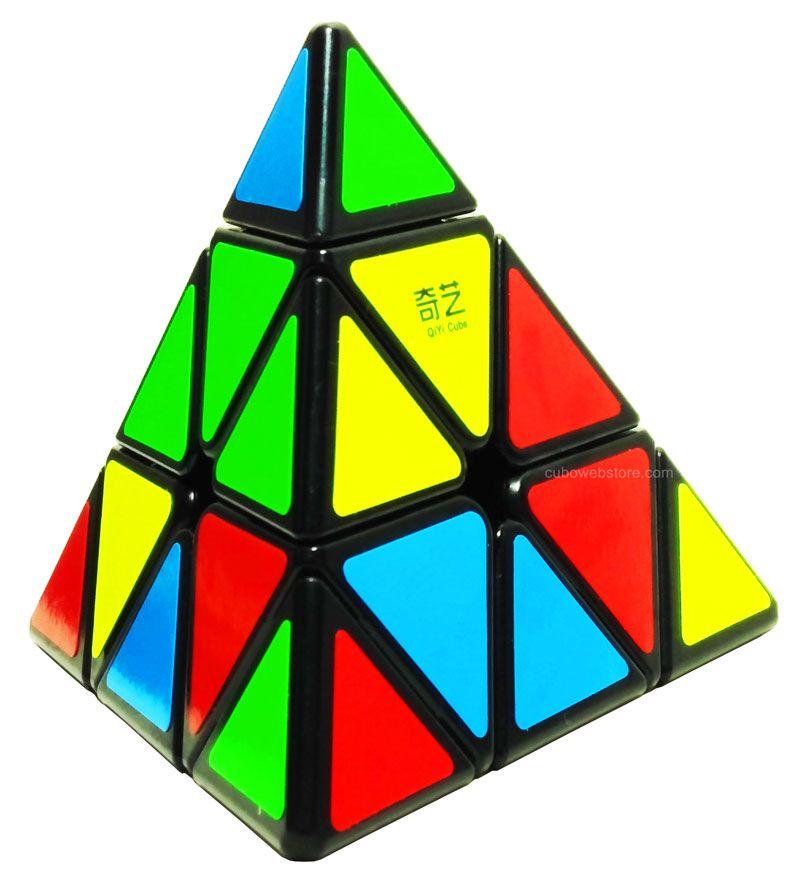 Pyraminx Qiyi QiMing Preto