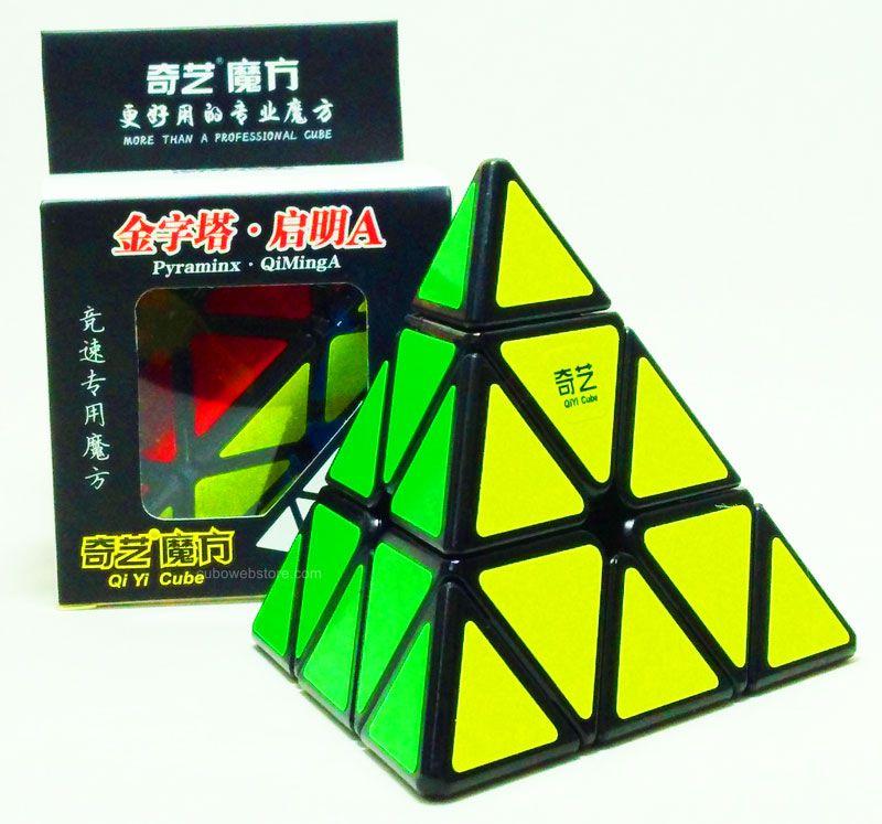 Pyraminx Qiyi QiMing-A Preto