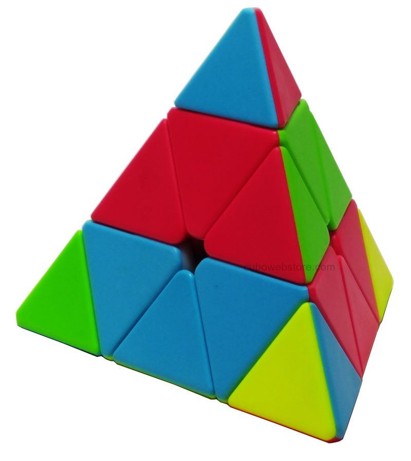 Pyraminx Qiyi QiMing Stickerless