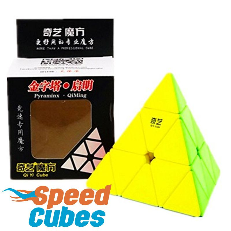 Pyraminx Qiyi QiMing Stickerless