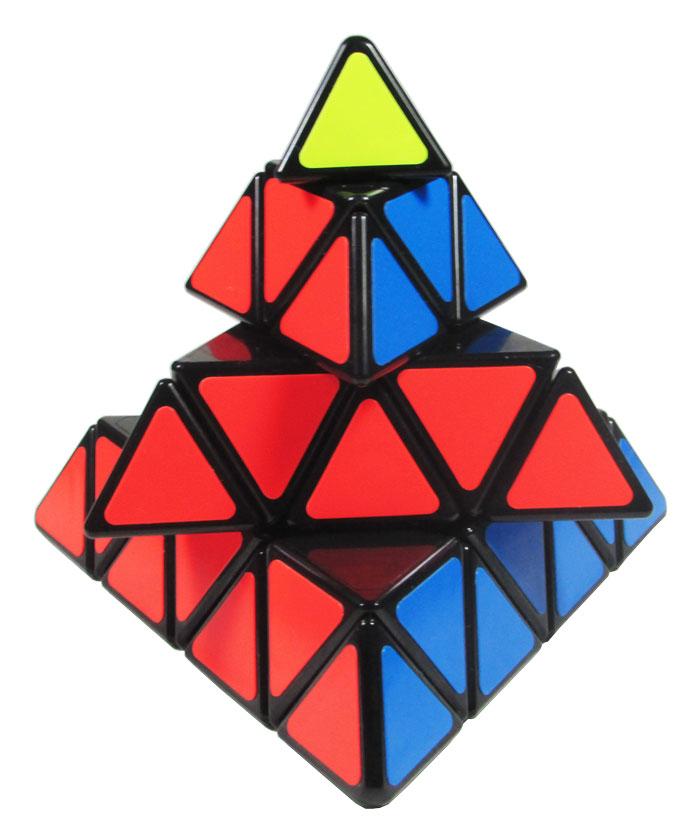 Master Pyraminx Shengshou Preto