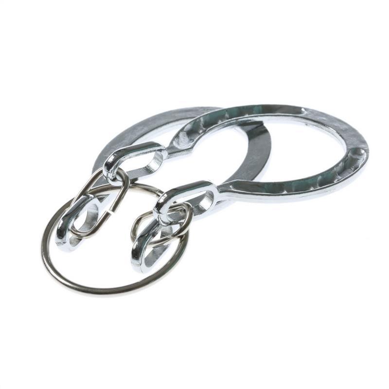 Quebra Cabeça Metal Ferradura 3d Prata
