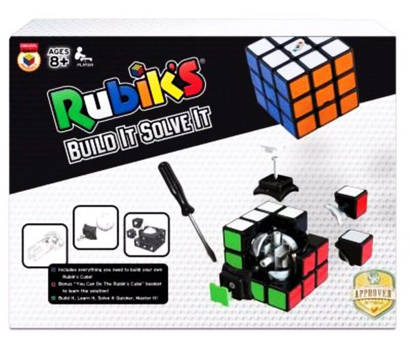 Rubiks Build It Solve It